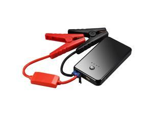 Victake Portable Charger Power Bank with 400A Peak Current Compact Car Jump Starter - Black