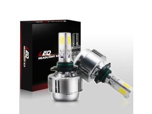 Autolizer 9005 / HB3 / 9040 / 9045 80W 8000LM 3-Sided All-in-One LED Headlight Bulbs Conversion Kit - 6000K Cool White