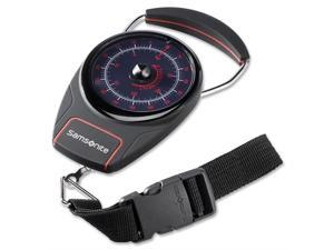 Samsonite Manual Luggage Scale - Black/Red