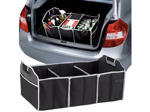 GearXS Auto Trunk Organizer with 3 Compartments