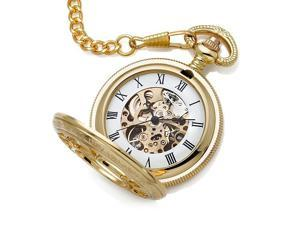 GearXS Collectible Gold Kansas City Railroad Pocket Watch