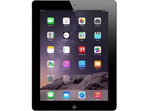 "Refurbished: Apple iPad 4 with 9.7"" Retina Display - Grade A - (2048x1536 264 ppi) - 16GB - Wi-Fi - Bluetooth - iOS 10 - Black - A1458 MD510LL/A 4th Generation - Genuine Apple Charger Included"
