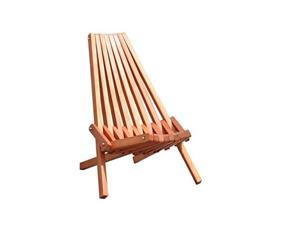 Eco-friendly Outdoor Hardwood Fully Assembled Foldable Garden Chair