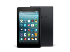 "Amazon Fire 7 B01GEW27DA Quad Core Processor 1.30 GHz 1 GB Memory 8 GB Flash Storage 7"" 1024 x 600 Tablet PC Fire OS 5 Black"