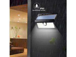 Five Star ARILUX Wireless Solar Powered 45 LED Waterproof PIR Motion Sensor Outdoor Wall Light(AL-SL07)