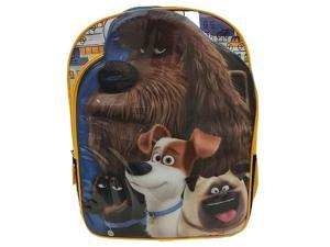 Backpack - The Secret Life of Pets - Universal School Bag New 131412