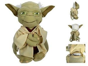Plush Backpack - Star Wars - Yoda Soft Doll New 124193