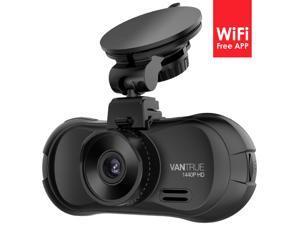 Vantrue X3 WIFI Dash cam,Super HD 2.5K Car Dashboard Camera Recorder with Ambarella A12 Chipset, 4-Lane Wide-Angle View Lens,Super HDR Night Vision and Loop Recording