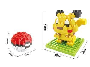 Hsanhe 8321 Pokemon 183Pcs 3D Building Block