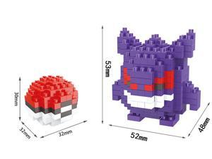 Hsanhe 8323 Pokemon 236Pcs 3D Building Block