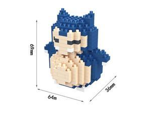 Hsanhe 8332 Pokemon 222Pcs 3D Building Block