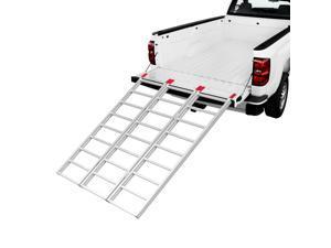 """Yaheetech 69"""" Tri-Fold Aluminum Ramp Folding Loading Ramp 1500LB Capacity"""
