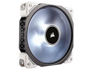 Refurbished: Corsair Certified Refurbished ML120 Pro (CO-9050041-WW) LED, White, 120mm Premium Magnetic Levitation Cooling Fan