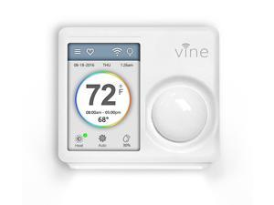 Vine Smart WiFi Thermostat with 7-Day Programming, Touchscreen and Nightlight (TJ-610)