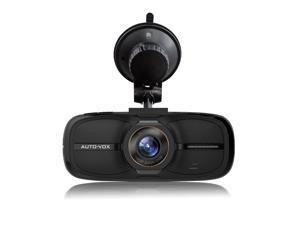 AUTOVOX D2 2.7-Inch Vehicle Dashboard Camera Full HD 1080P DVR Video Recorder 140° Wide View Angle with WDR Loop Recording F2.0 Night Vision DVR Camcorder