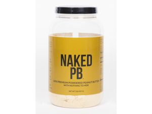 Naked Nutrition NAKED PB - 100% Premium Powdered Peanut Butter -  2lb Bulk