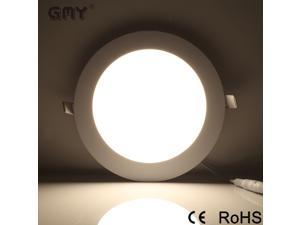"""Ultra-thin Round 18W  Panel Light Ceiling Lamps Recessed Light Fixture 8.7"""" White 4000K AC100-277V"""