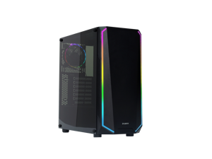 Zalman ATX Mid Tower Case w/Tempered Glass & Spectrum LED