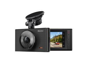 "Roav by Anker Dash Cam C2, FHD 1080P, 3"" LCD, 4-Lane Wide-Angle View Lens, G-Sensor, WDR, Loop Recording, Night Mode, 2-Port Charger, No Wifi or APP"