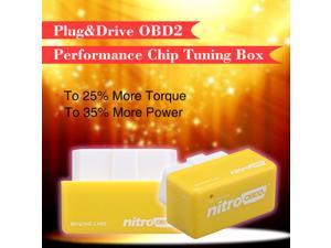 Nitro OBD2 OBD II Chip Tuning Box Interface Plug and Drive for Benzine Cars