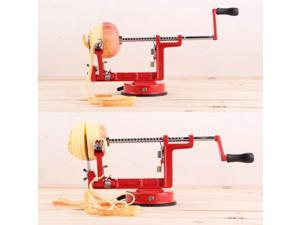Apple Slinky Machine Peeler Corer Potato Fruit Cutter Slicer Kitchen Tool Red