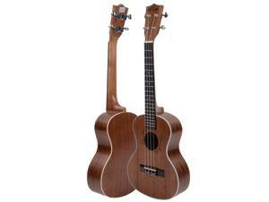 "New 26"" Rosewood 18 Frets Kasch Exquisite Pure Sapele Ukulele Musical Instrument"