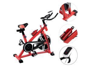 Indoor Cycling Exercise Bike Home Cardio Workout Fitness Gym Trainer Equipment