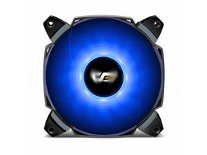 aigo darkFlash Dual Blade 120mm Case Fan with Large Air Circulation and LED Radiator Fan with Anti-Vibration Mounting System Cooling Cooler for Computer Cases CPU Coolers and Radiator (120mm, Blue)