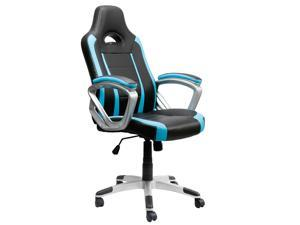 EAMBRITE Gaming Chair Swivel Racing Style Task Chair Ergonomic High-back Computer Chair Leather Office Chair