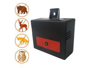 Solar Powered Nocturnal Pest Deterrent- Predator Control Light- Animal Repellent- Solid, Durable, IP44 and Economical Solution for Pest Intrusion- 2 Packs