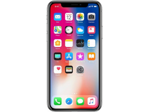 Refurbished: Apple iPhone X 64GB Silver AT&T