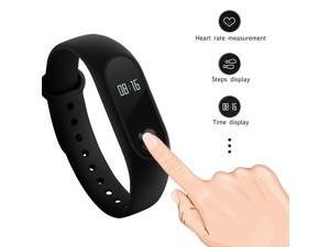 Xiaomi Mi Band 2 With OLED Display Heart Rate Monitor Waterproof Fitness Tracker 20 Days Battery Life