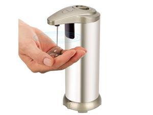 Avatar Controls Smart Soap Dispenser,IR Infrared Motion Sensor Touch-less Auto-soap Dispenser for Kitchen/Bathroom Automatic,Hands-Free Stainless Steel Design (Batteries Not Included)