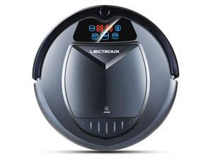 Liectroux B3000 Robot Vacuum Cleaner with Self Charging, Vacuum Cleaning Robot with HEPA Filter, Two Side Brushes, Remote Control, Automatic Vacuum Cleaner Designed for Hard Floor and Shortpile Carpet