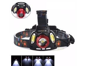 15000LM LED Rechargeable Headlight Flashlight Torch 3x T6 Headlamp Lamp
