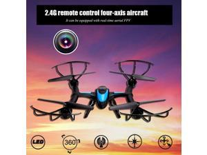 New X500 2.4G 6 Axis Gyro Headless Mode 3D Roll RC Quadcopter Helicopter Black