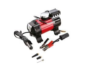 Portable Air Compressor Pump 100 PSI 12V 168W Auto Digital Car Tire Inflator Gauge