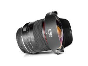 MEKE Meike 8mm f/3.5 Ultra Wide Rectangle Fisheye Lens for Canon APS-C Cameras