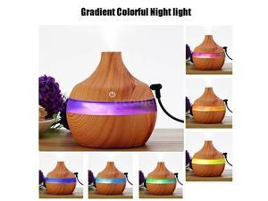 Night Lamp Humidifier Mini Ultrasonic Static Air Purifier Aromatherapy Machine