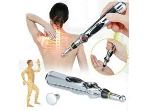 Electronic Acupuncture Pen Electric Meridians Laser Acupuncture Machine Magnet Therapy Instrument Meridian Energy Pen Massager