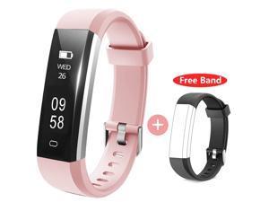Muzili 115U  Activity Tracker Waterproof Sport Bracelet Touchscreen Fitness band withStep Counter/Calorie Counter/Sleep Monitor Tracker/Call Notification for Kids Women and Men