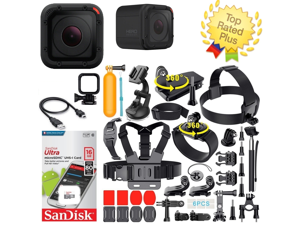 Refurbished: GoPro HERO4 Session + Complete Accessory Kit Bundle W/ 16gb SD Card (40+ Pcs)
