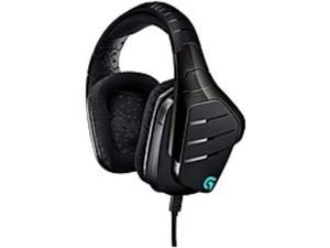 Refurbished: Logitech Certified Refurbished G633 Artemis Spectrum (981-000586) RGB 7.1 Surround Gaming Headset - Mini-phone, Multi-Source USB & 3.5mm - Wired, 39 Ohm, 20 Hz - 20 KHz, Over-the-head