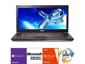 "Refurbished: Dell Latitude E6510 Intel i7 Quad Core 1600 MHz 250Gig HDD 4096MB NO OPTICAL DRIVE 15.0"" WideScreen LCD Windows 10 Professional 64 Bit Laptop Notebook"