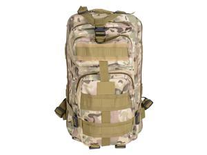30L Hiking Camping Outdoor Sport Backpack 600D Oxford Travel Military Bag CP Camouflage