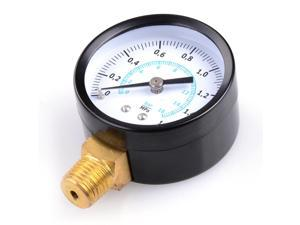 "2"" Water Pressure Gauge Black Water Well Tank"