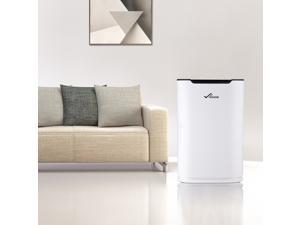 45W Air Purifier 3in1 HEPA Filter Anionic Dust Odor Smoke Pollen Mold Remover Cleaner Sterilizer