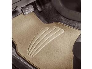 Car Floor Mats For Auto Car SUV 4pcs Carpet Liner Beige