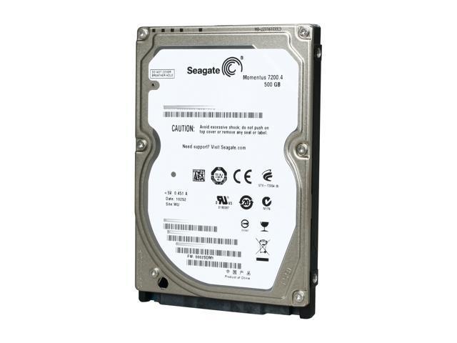 Seagate Momentus 72004 ST9500420AS 500GB 7200 RPM 16MB Cache SATA 30Gb S 25