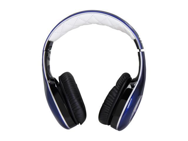 Soul by Ludacris Blue SL150BU 3.5mm Connector Circumaural Pro Hi-Definition On-Ear